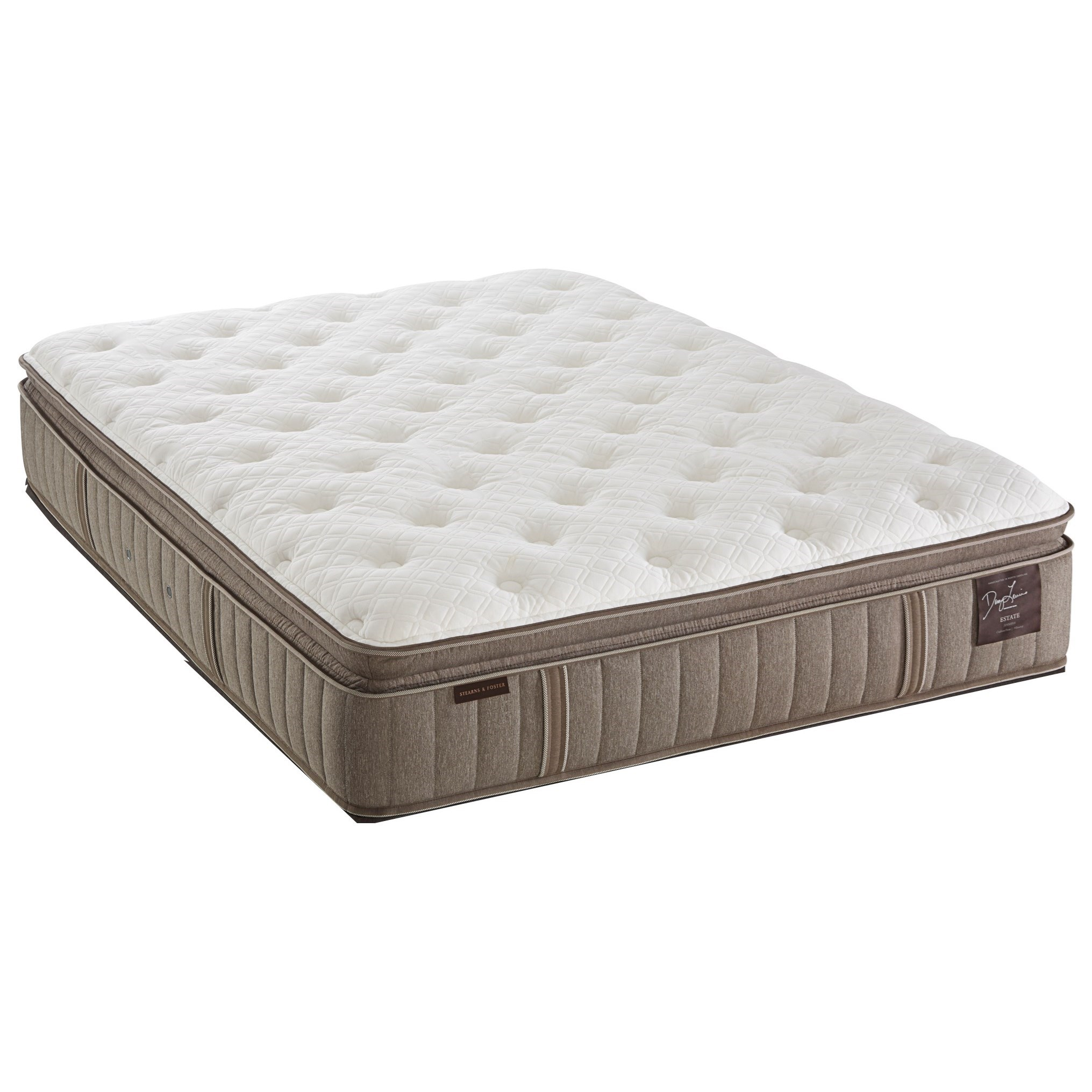 Stearns & Foster F4 Estate Plush EPT 2016 Full Plush Euro PT Mattress - Item Number: PlushEPT-F