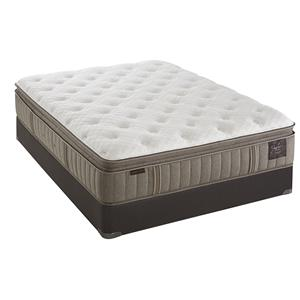 Stearns & Foster Scarborough Luxury Plush EPT Queen Plush Euro PT Mattress Set