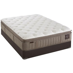Stearns & Foster Scarborough Luxury Plush EPT King Plush Euro PT Mattress Set