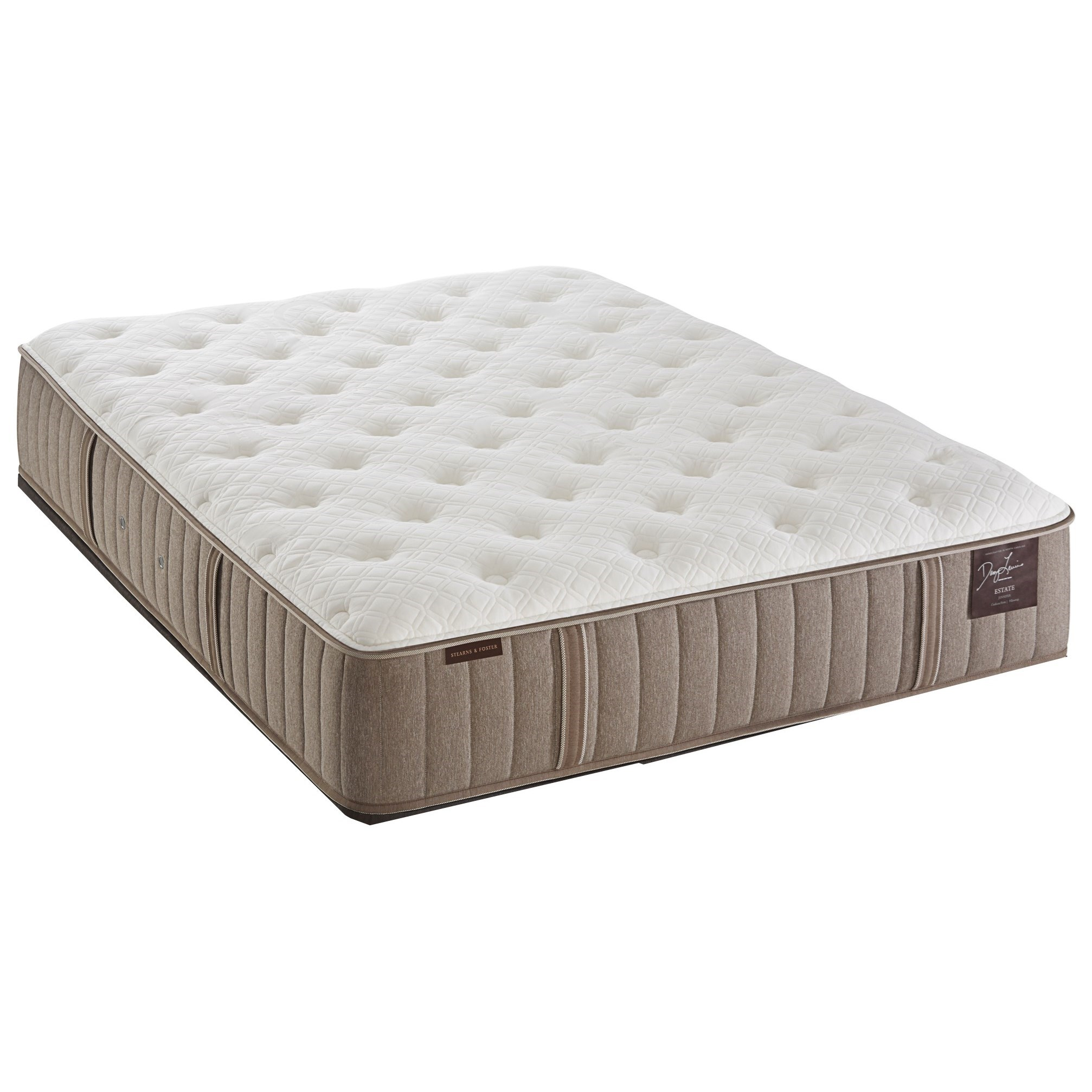 Stearns & Foster Scarborough King Plush Tight Top Mattress - Item Number: Plush-K