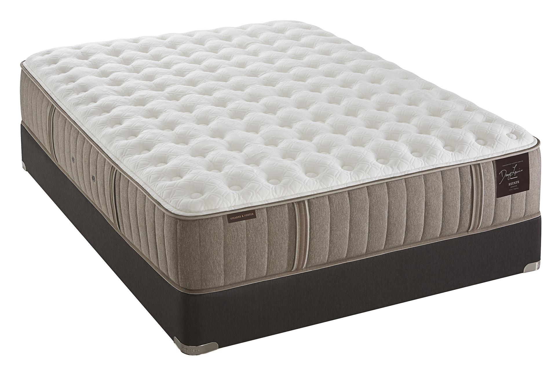 Stearns & Foster Scarborough Full Plush Tight Top Mattress Set - Item Number: Plush-F+LPFoundation-F