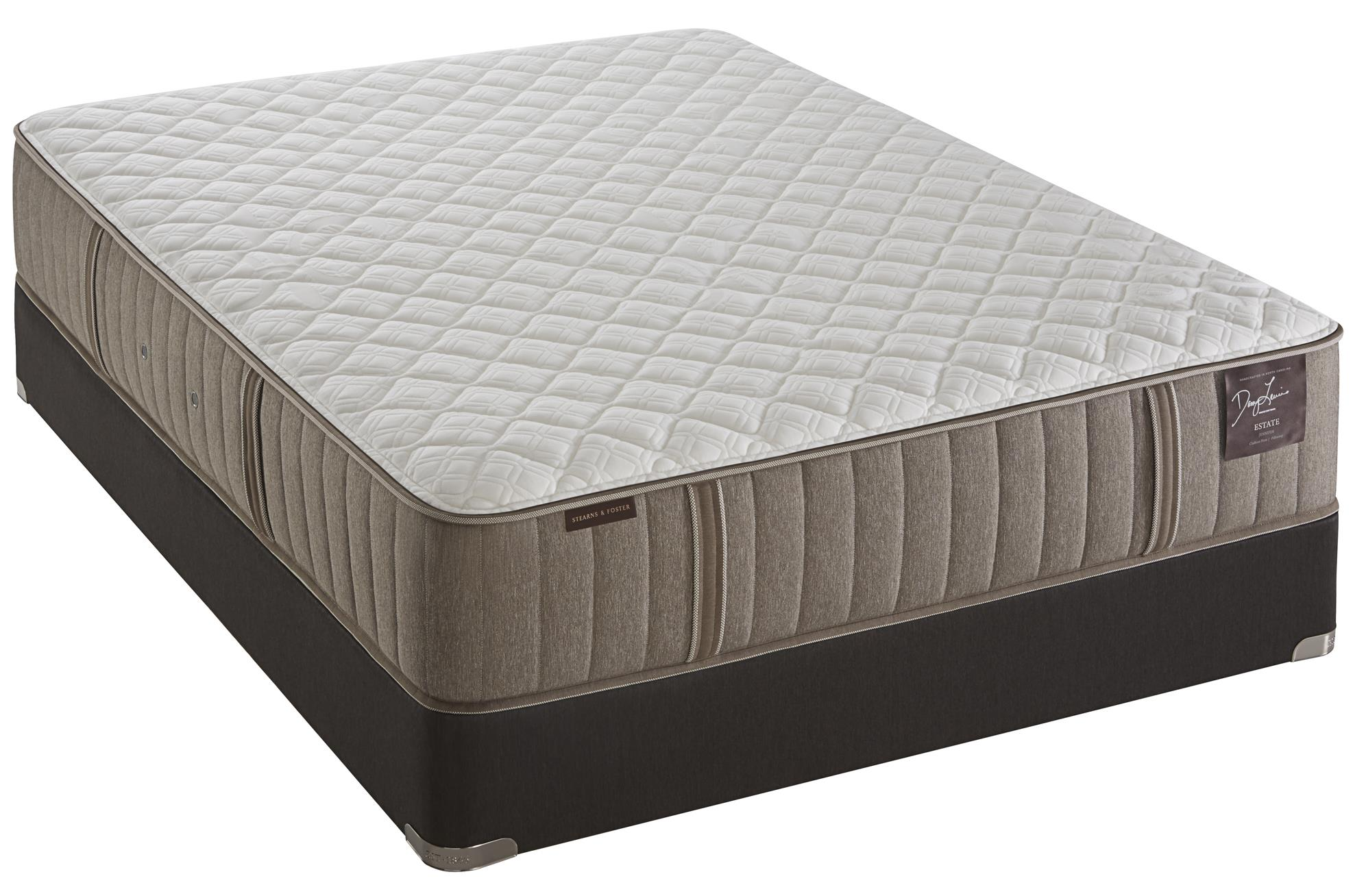 Stearns & Foster Scarborough Ultra Firm Twin XL Ultra Firm Mattress Set - Item Number: UFirm-TXL+LPFoundation-TXL
