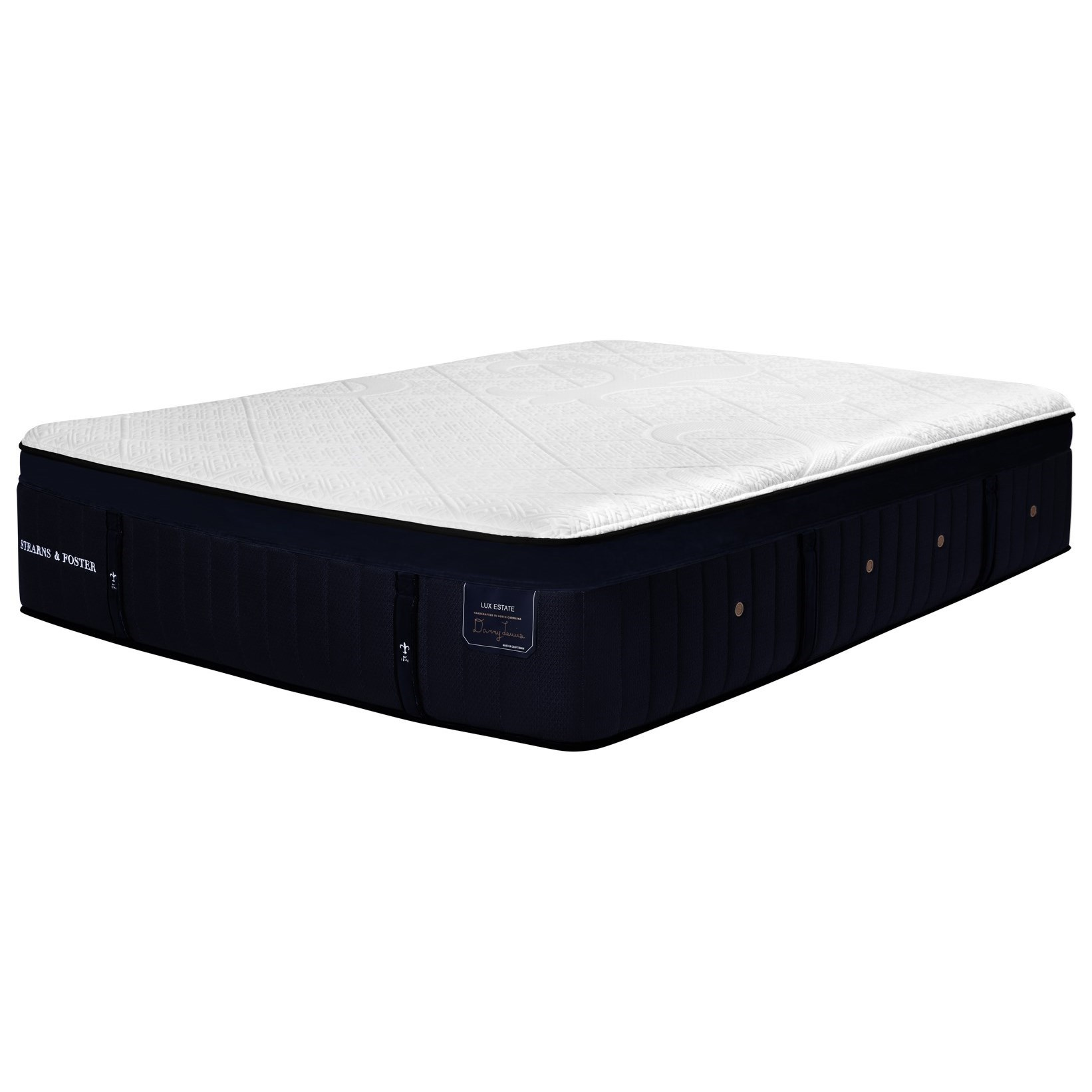 "Pollock  Pollock Queen 16"" Premium Hybrid Mattress by Stearns & Foster at Morris Home"
