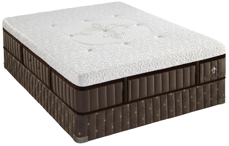 Stearns & Foster LH6 Luxury Plush Tight Top  Full Luxury Plush Mattress Set - Item Number: LuxPlush-F+608615F
