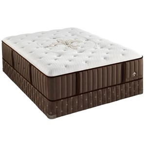 Queen Plush Latex Mattress Set