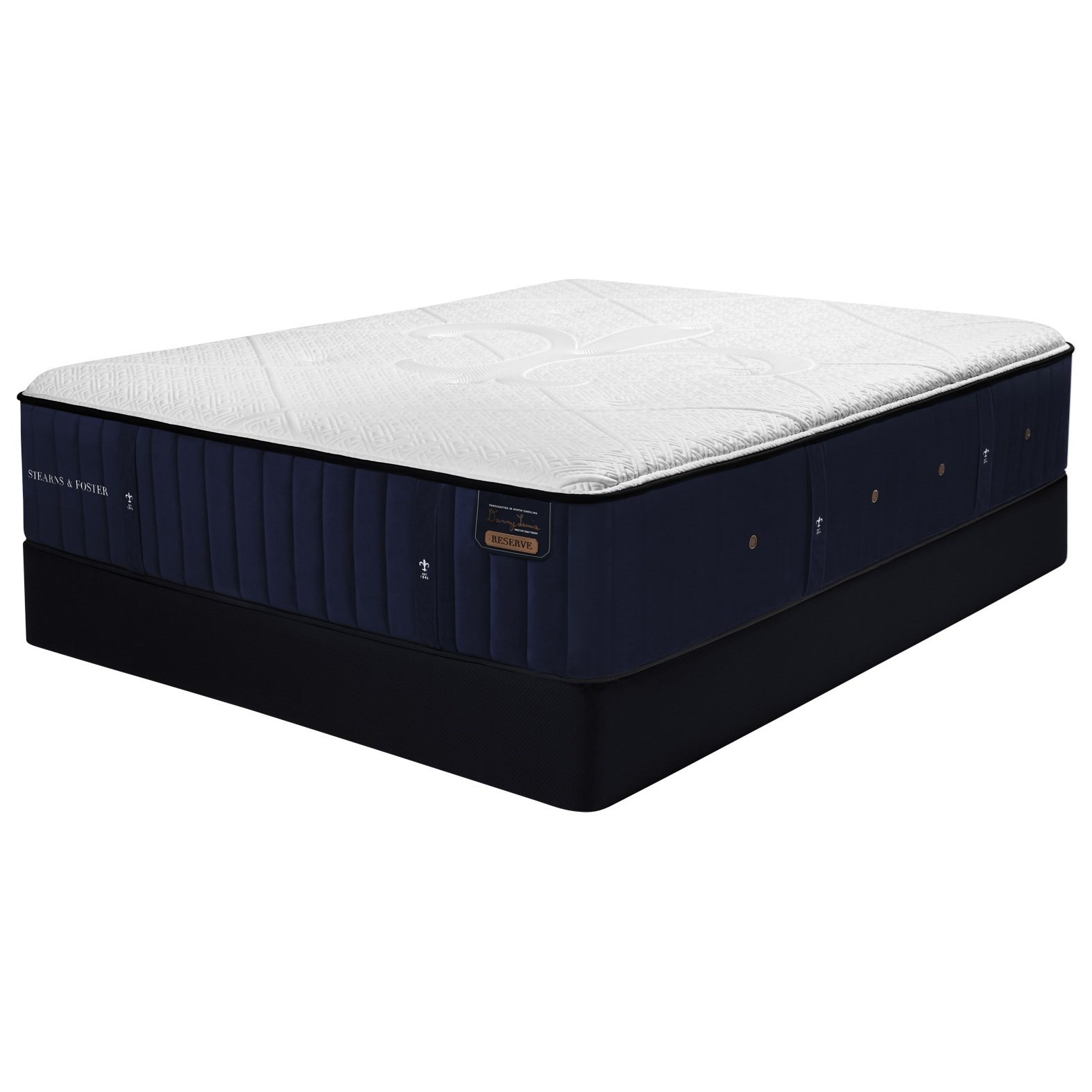 "Hepburn RE2 Luxury Firm TT Cal King 15"" Premium Mattress Set by Stearns & Foster at Morris Home"