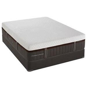 Stearns & Foster Lakelet Luxury Firm King Firm Hybrid Mattress Set