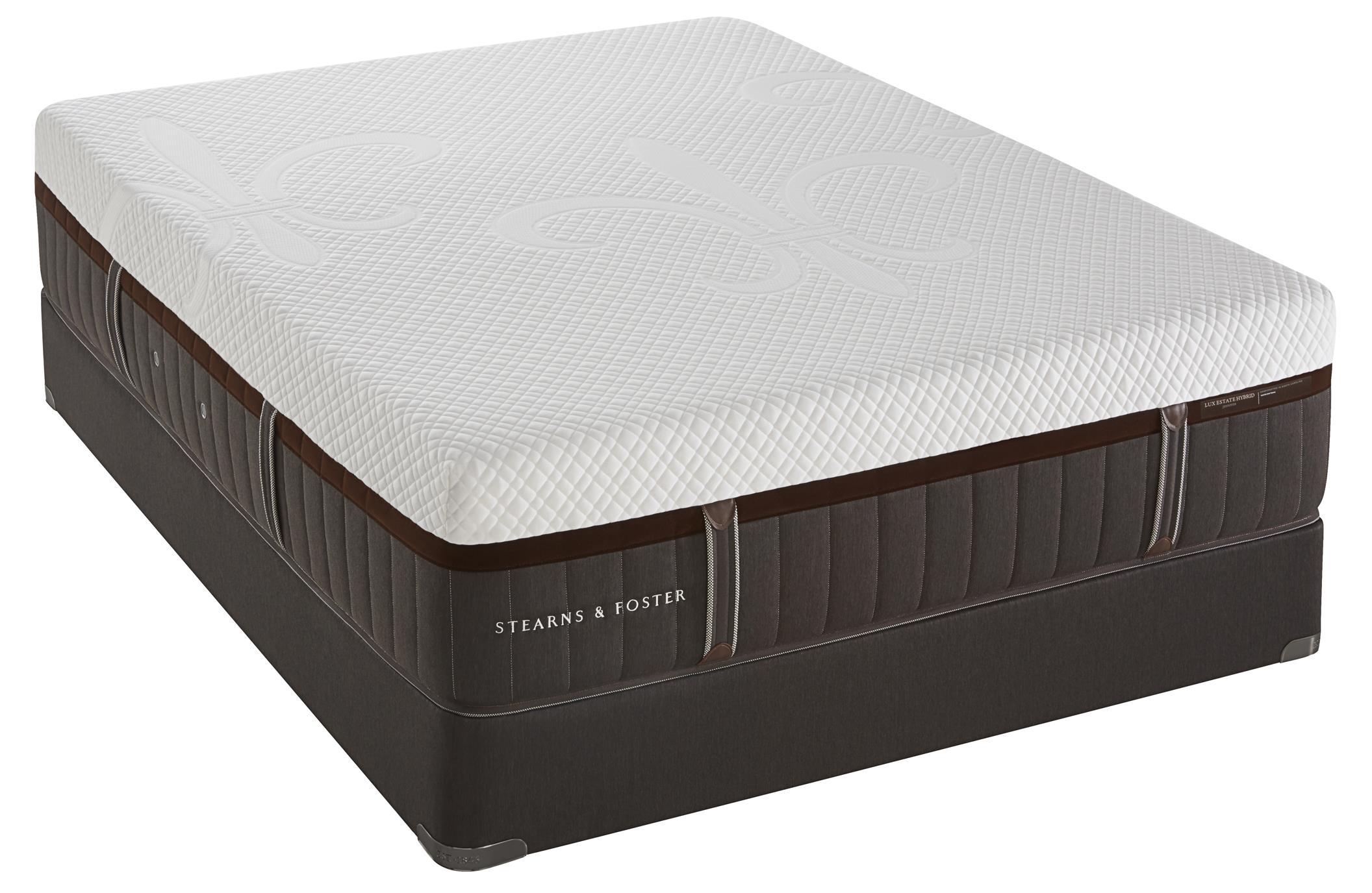 Queen Cushion Firm Hybrid Mattress Set