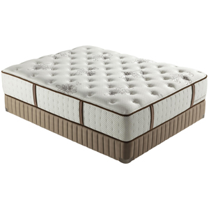 Stearns & Foster Estate 2012 Queen Luxury Firm Mattress Set