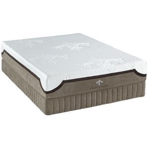 Queen Gel Memory Foam Mattress Set