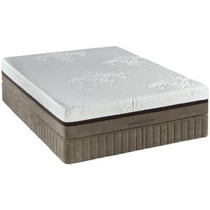 Stearns & Foster Monogram Primera Queen Gel Memory Foam Mattress