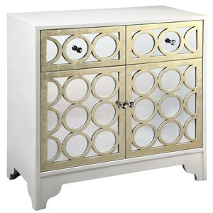 Morris Home Furnishings 12551 Mirrored Table Cabinet