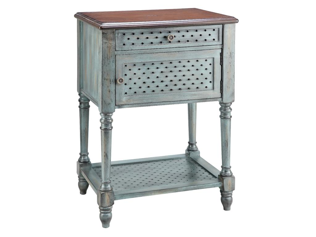 Stein World Accent Tables Accent Table 1 Door 1 Drawer Knight Furniture Mattress End Tables