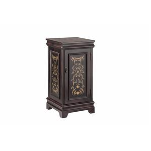 Morris Home Accent Tables Pedastal with Storage