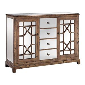 Stein World Accent Tables Mirrored Cabinet