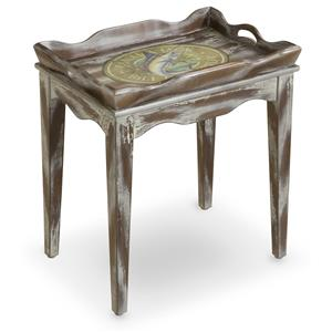 Morris Home Furnishings Accent Tables High Tide Tray Table