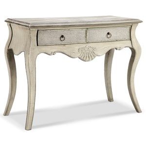 Morris Home Accent Tables Marsh Carved/Curved Leg Console Table