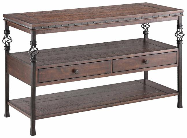 Stein World Accent Tables Sherwood Sofa Table - Item Number: 490-031
