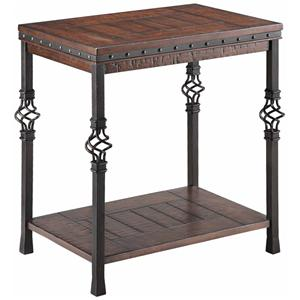 Stein World Accent Tables Sherwood Chairside Table