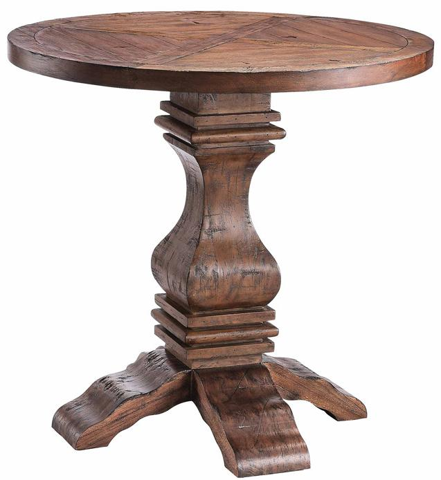 Stein World Accent Tables Round Pedestal Table - Item Number: 57249