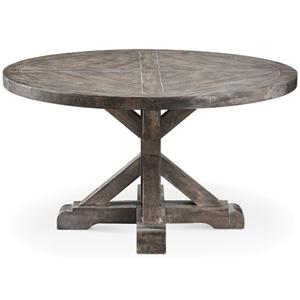 Morris Home Furnishings Accent Tables Bridgeport Round Cocktail Table