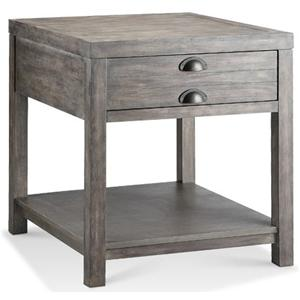 Morris Home Furnishings Accent Tables Bridgeport Rectangle End Table