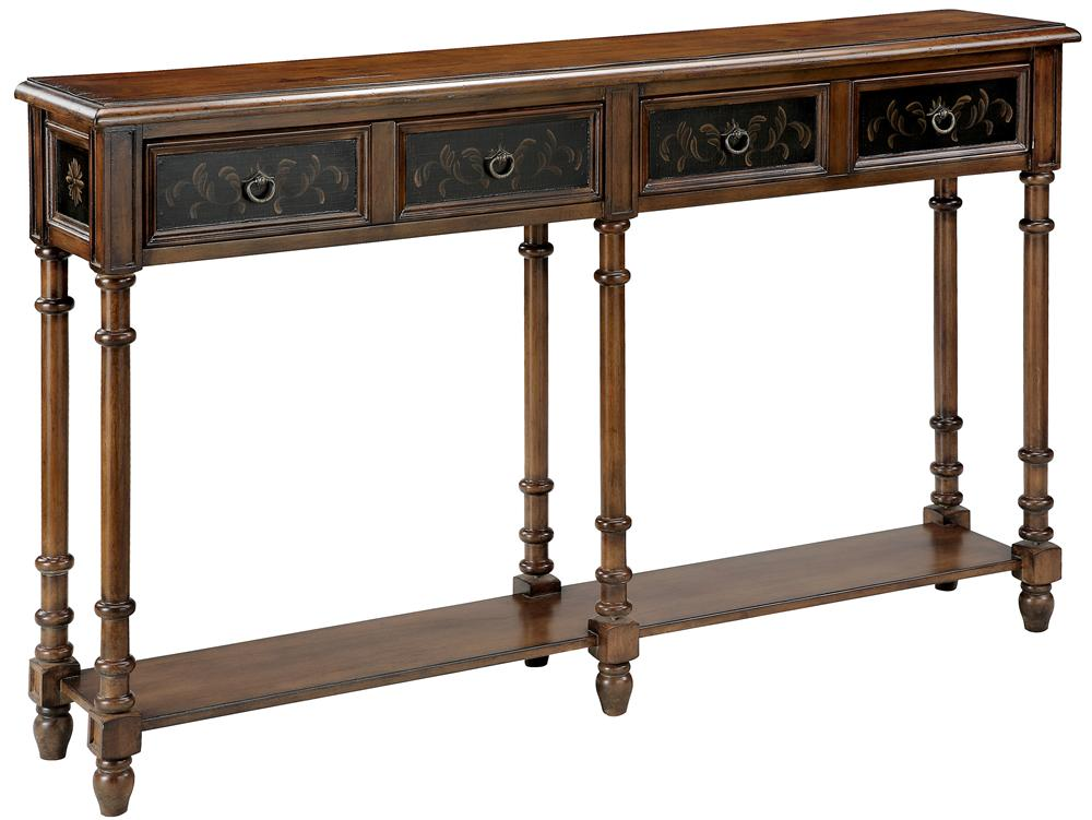 Stein world accent tables double console table with