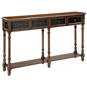 Morris Home Furnishings Accent Tables Double Console Table