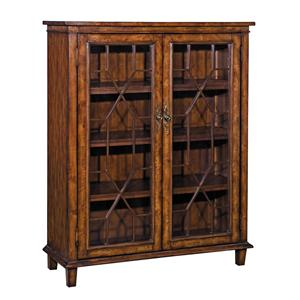 Morris Home Furnishings Bookcases Chippendale Style Bookcase