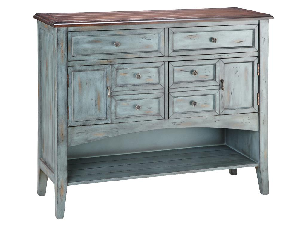 Stein world cabinets hartford console royal furniture buffet - Sofa table with cabinets ...