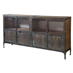 Morris Home Furnishings Cabinets Irene Large Console