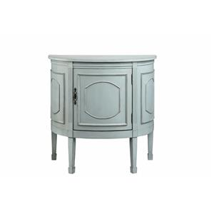 Morris Home Cabinets Demilune Console