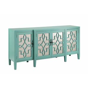 Morris Home Cabinets Mirrored Credenza