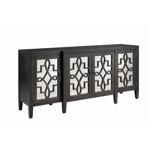 Morris Home Furnishings Cabinets Mirrored Credenza