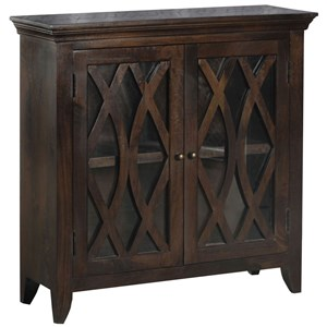 Morris Home Furnishings Cabinets Maho Accent Cabinet