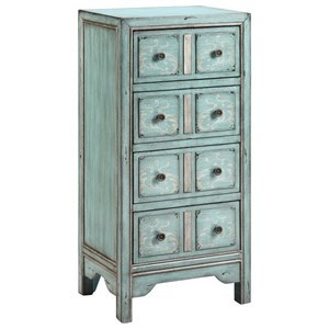 Morris Home Furnishings Cabinets Evelyn Chest