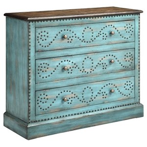Morris Home Furnishings Cabinets Ursula 3-Drawer Chest