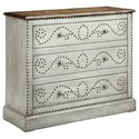Morris Home Cabinets Ursula 3-Drawer Chest - Item Number: 13493