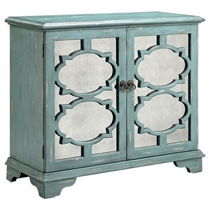 Morris Home Furnishings Cabinets Candice 2-Door Cabinet