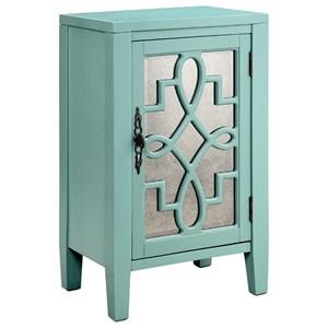 Leighton 1-Door Cabinet Grey