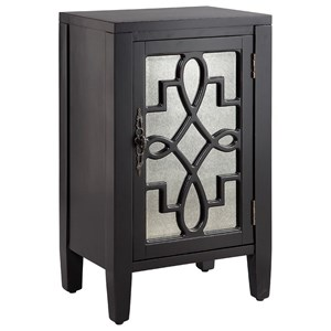 Leighton 1-Door Cabinet Grey
