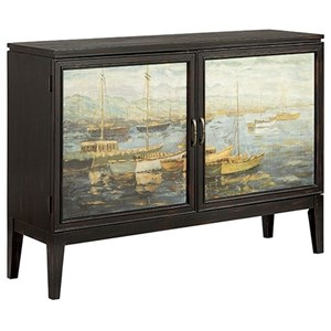 Morris Home Furnishings Cabinets Bateau 2-Door Cabinet