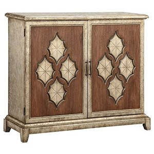 Morris Home Furnishings Cabinets Francis 2-Door Cabinet