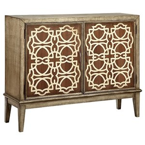 Morris Home Furnishings Cabinets Veranda 2-Door Cabinet