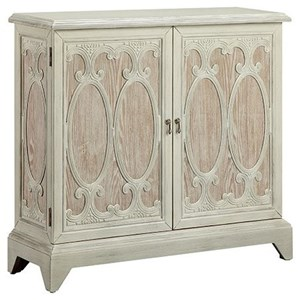 Morris Home Furnishings Cabinets Daphne 2-Door Cabinet