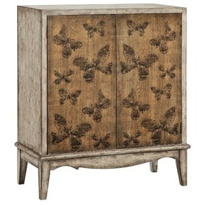 Morris Home Furnishings Cabinets Meadow 2-Door Cabinet