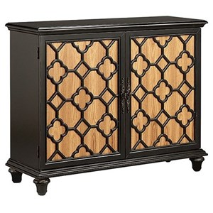 Morris Home Furnishings Cabinets Montique 2-Door Cabinet