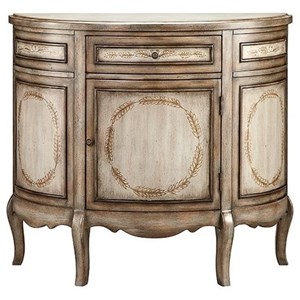 Morris Home Furnishings Cabinets Laurel Half Round Cabinet