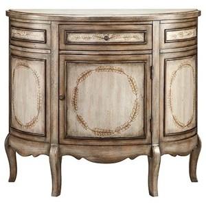 Laurel Half Round Cabinet