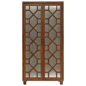 Morris Home Furnishings Cabinets Gunther 2 Door Almirah